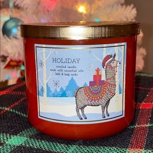 Holiday Scent Candle Bath & Body Works